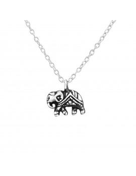 Elefant - Lantisor argint