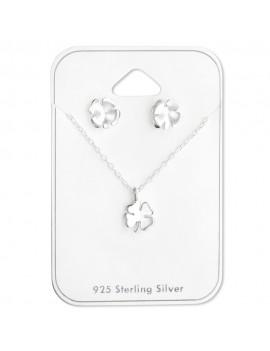 Trifoi Norocos - Set argint