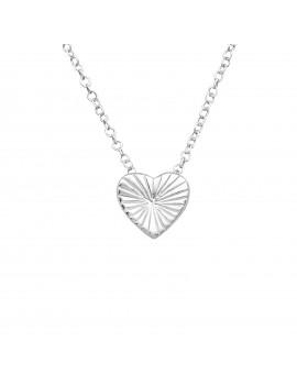 Inima - Lantisor argint cu...