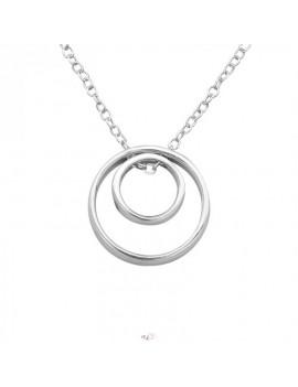Cerc in cerc - Lantisor argint